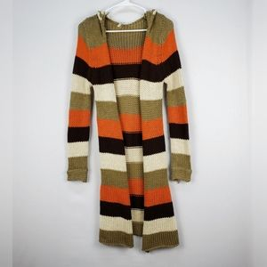 36 point 5 | retro knit color block duster